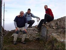 San León mendiaren gailurra 1.228 m. – 2010eko martxoaren 21ean