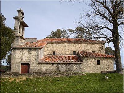 Iglesia de San Miguel en Mendeika
