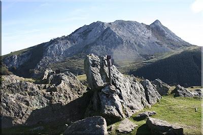 Cresta de Anboto desde Urkiolagirre
