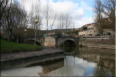 Río Ayuda a su paso por Trebiño