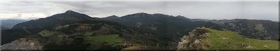 Montes de Triano desde Ganeroitz