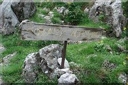 Cruce del Ibón (izq.) y Pto. Palos (Dcha)