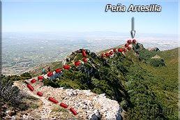 Camino a Peña Artesilla