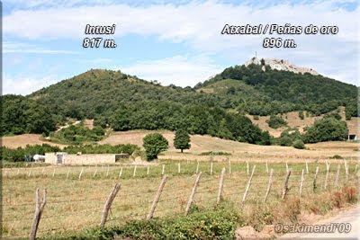 Atxabal (Peñas de Oro) desde Domaikia