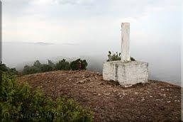 Vértice y buzón en la cima de Olvedo