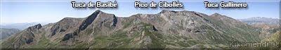 Panorámica de los Montes de Basibé desde las inmediaciones de Tuca de Pusolobino.