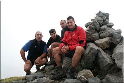 Llena de la Garganta mendiaren gailurra 2.599 m. -  2009ko irailaren 12an