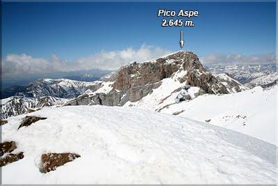 El Aspe visto desde el Pico Lecherín
