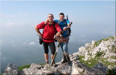 Anboto mendiaren gailurra 1.331 m. -- 2009ko irailaren 27an