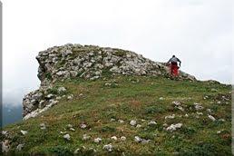 Llegando a la cima de Atxipi