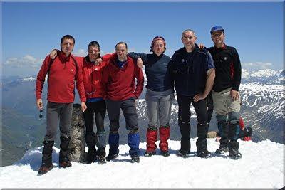 Aspe mendiaren gailurra 2.645 m. – 2010eko maiatzaren 22an