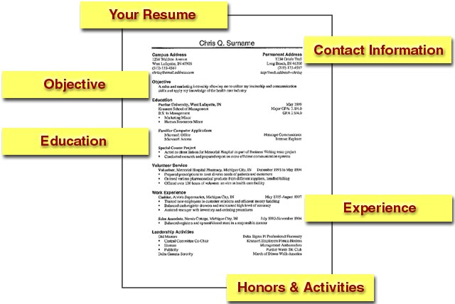 Al P s Resume Writing TipsEducational Background In Resume
