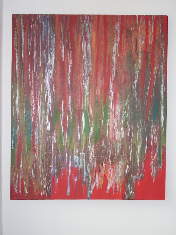 Abstrato com fundo Vermelho