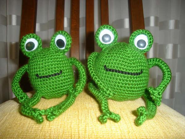 [örgü+kurbağa]
