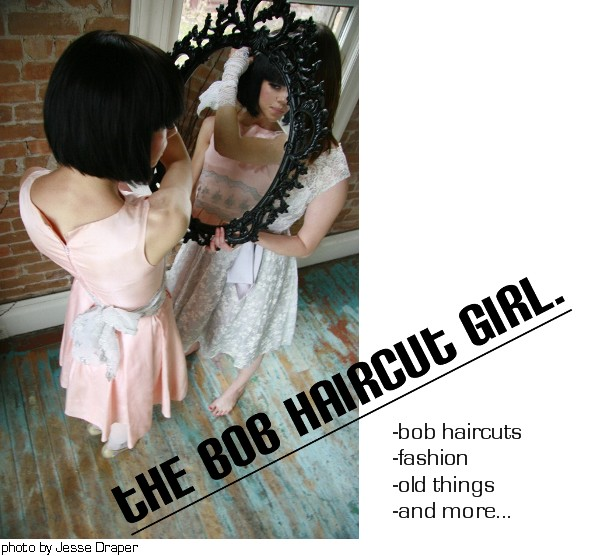the bob haircut girl