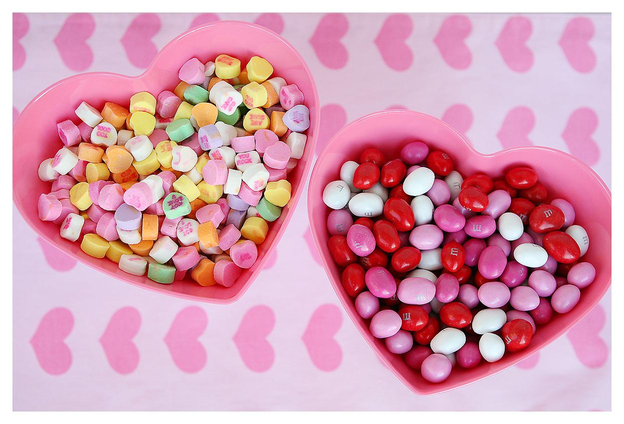 valentine candy dishes - Valentine Dishes
