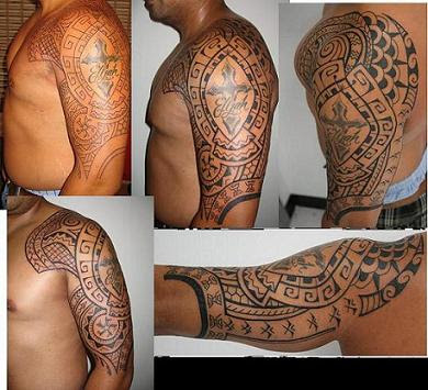 Free Image of Sleeve Tattoo Designs Stars Under category: tribal tattoo,