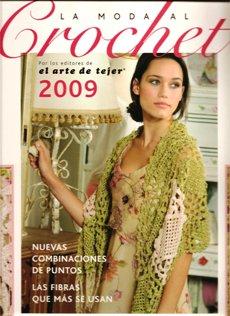 Revista El arte de tejer Сrochet 2009