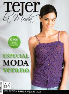 Revista Tejer la Moda №64