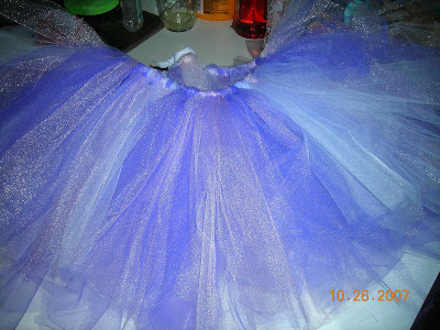 (the tutu I made Halloween '07 so Gabby could be a fairy)