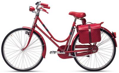 La bici de Gucci
