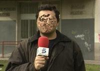 En Sevilla. Nils Olgersson. Informativos Telecinco.
