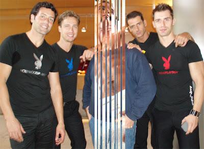 Nils y los modelos de Playboy