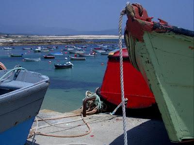 Corrubedo, barcas