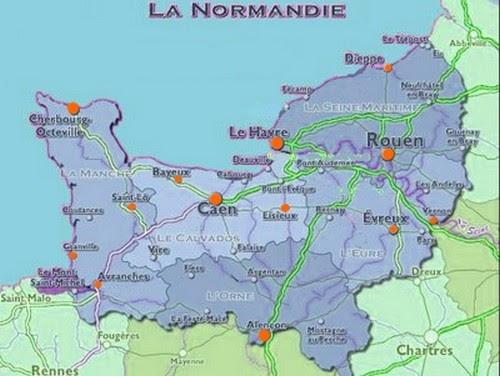 Nordman dit normandie for Haute ou basse normandie
