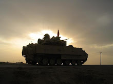 My Platoon Sgt. SFC K's Bradley Infantry Fighting Vehicle