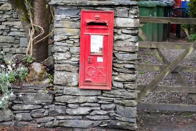 travel attractions, united kingdom, Beatrix Potter, Hill Top, post box
