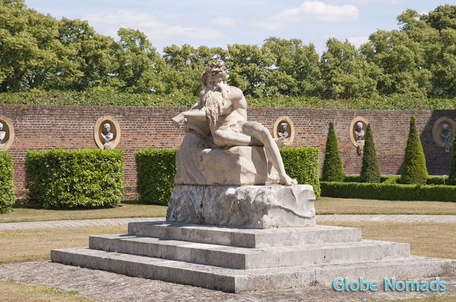 Travel, Attraction review, United Kingdom, Ham House, statue of Father Thames