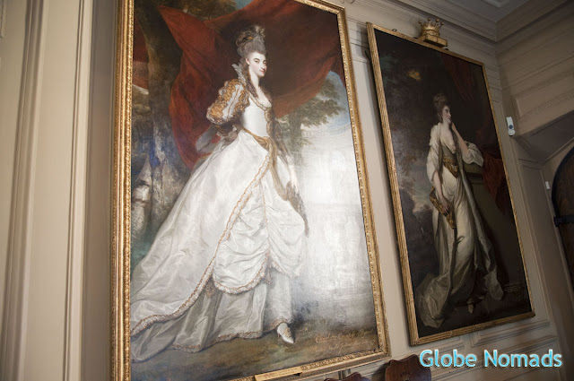 Travel, Attraction review, United Kingdom, Ham House wall portraits