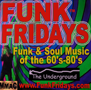 don't ever miss Funky Fridays !!!