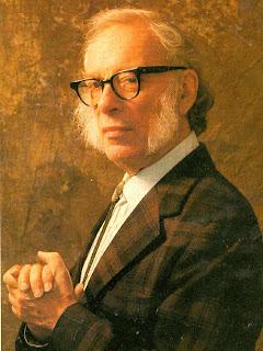 Retrato de Isaac Asimov