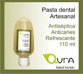 PASTA DENTAL NEEM PARA DIABETICO CON NEEM DE LABORATORIO QURA.