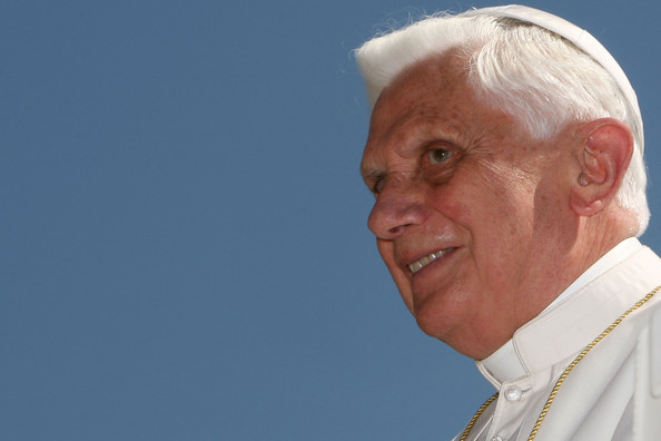 Quote from our Blessed Pope Benedict XVI