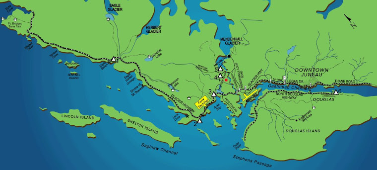 Map of Juneau Area