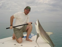 Brett with a Blacktip