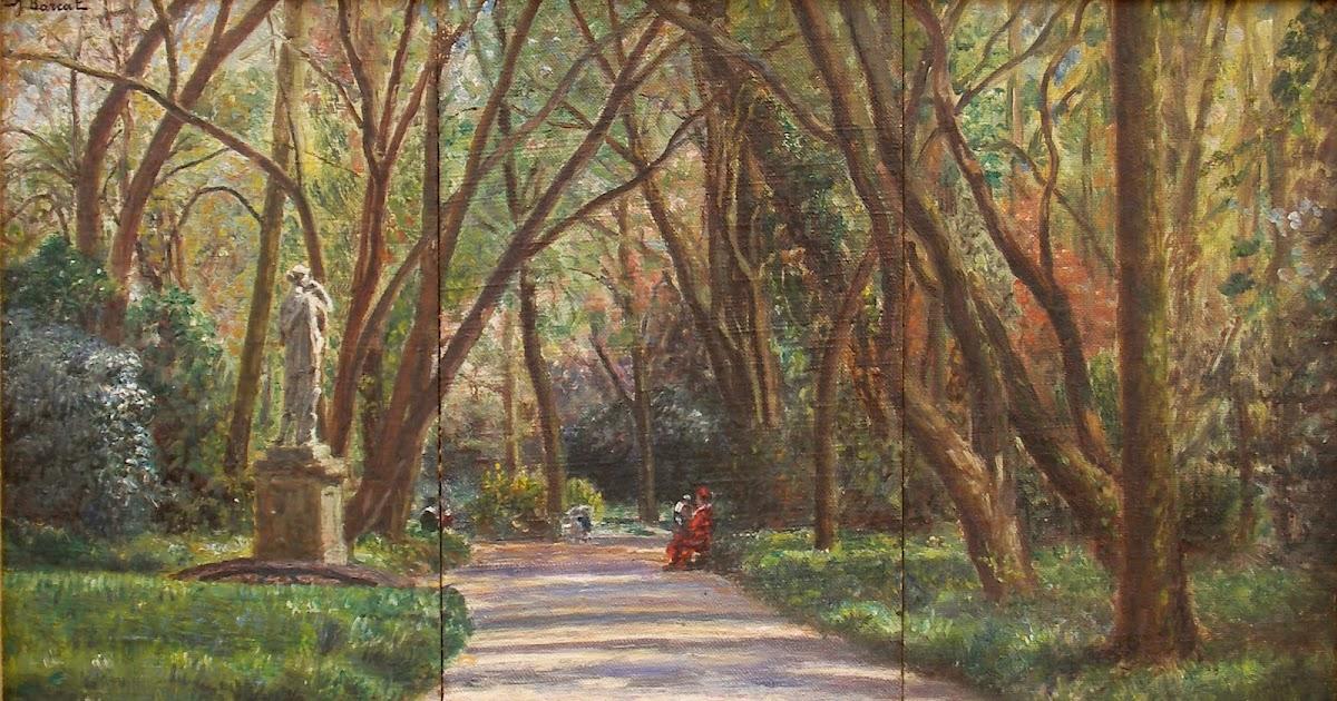 Jacques barcat 1877 1955 une all e du jardin des plantes au mans una calle del jard n - Table de jardin qualite le mans ...