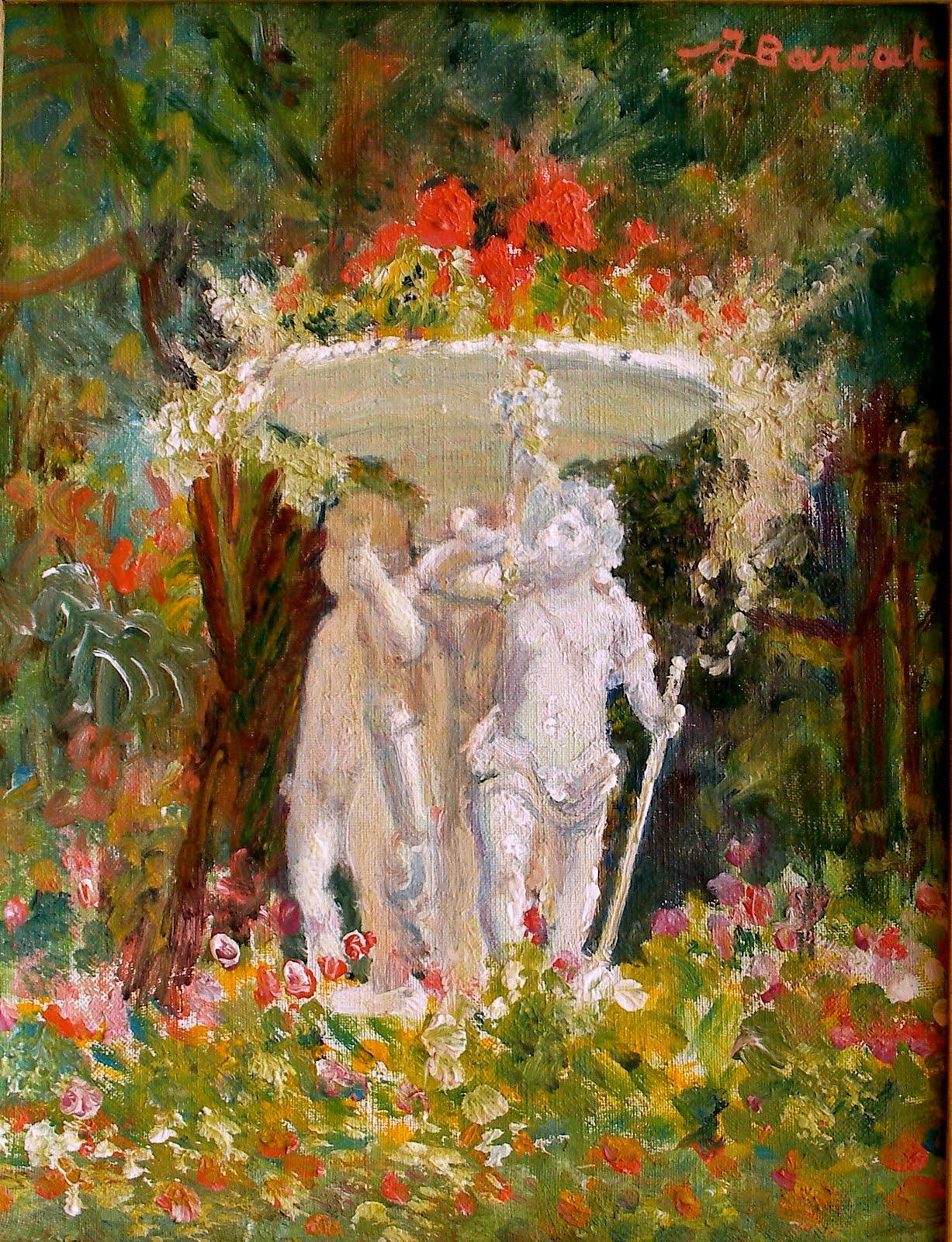Jacques barcat 1877 1955 les petits amours du jardin des plantes los amorcillos del jard n - Table de jardin qualite le mans ...