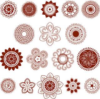 Devi39s Blog Mehendi Symbols Patterns And Meanings
