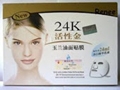 4 - 24k Face Mask
