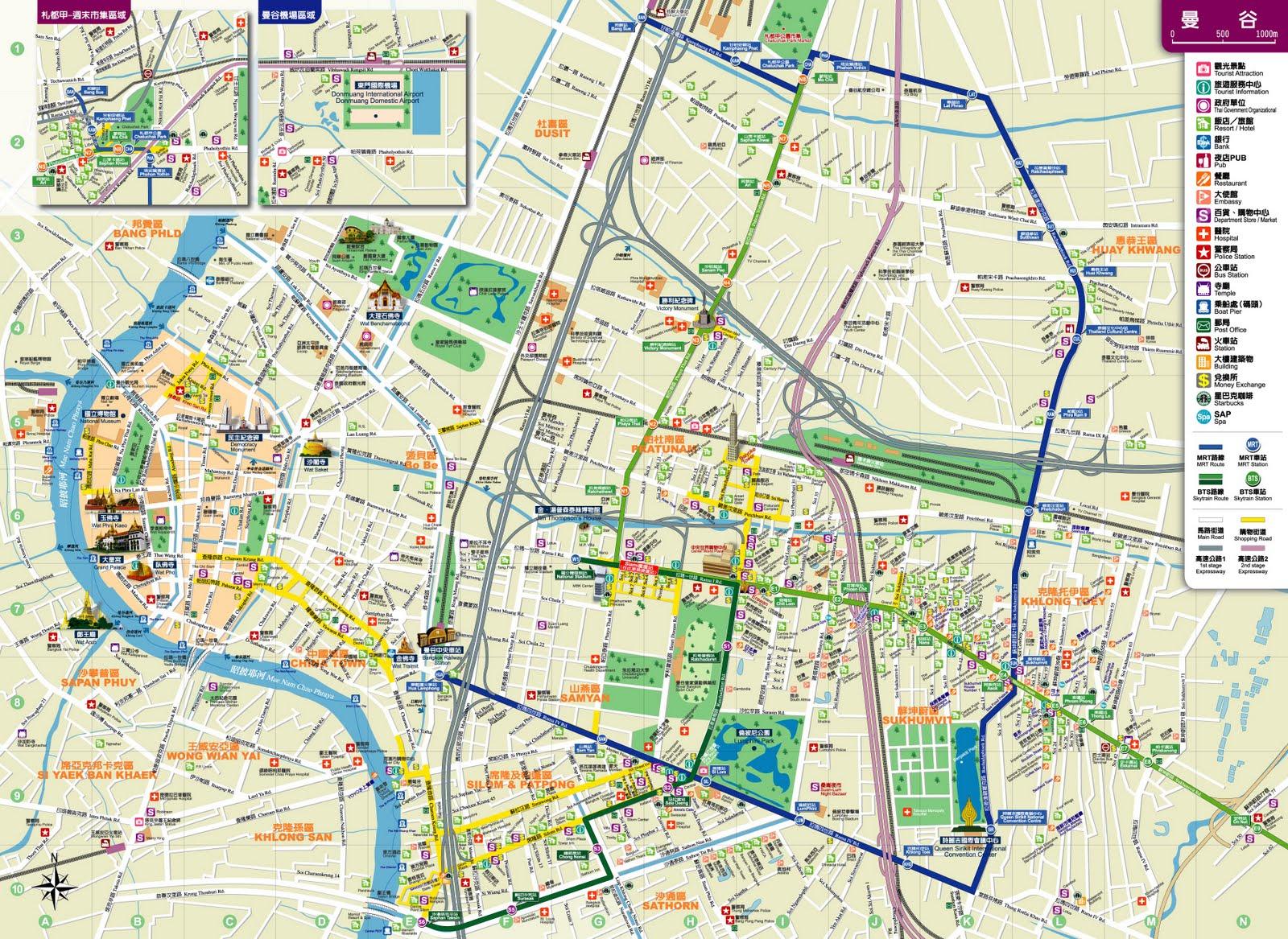 Testing Bangkok Map