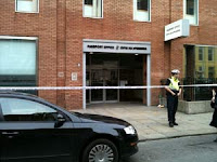 Bomb scare at the Passport Office on Molesworth Street, Dublin 2