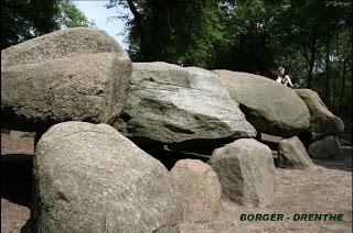 Hunnebedden van Borger