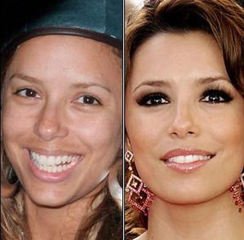 Eva Longoria is the latest Star without Make-up girl, This is what she