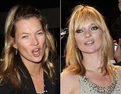 celebrities with out makeup. makeup caught without make-up