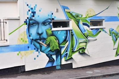 Graffiti spray paint Arts