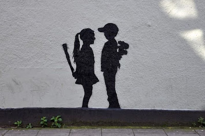stencil art graffiti